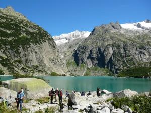 jezioro gelmer, berneński oberland, szwajcaria