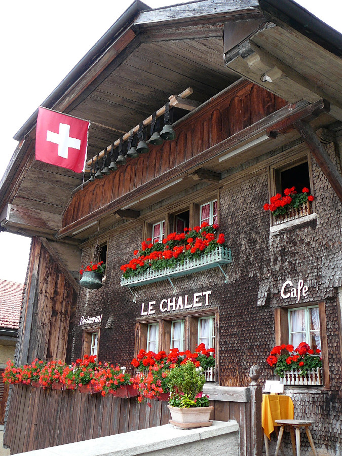Restaurant Le Chalet, Gruy?res