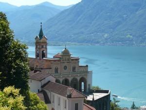 Kościół Madonna del Sasso w Locarno.
