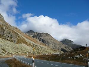 Przełęcz Julier, Górna Engadyna.