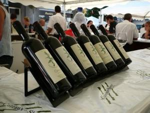 Swiss wines at Vinea Fair in Sierre.