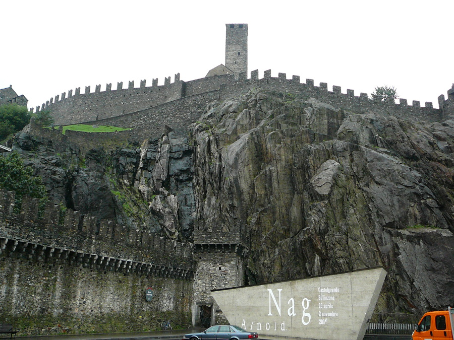 Castelgrande Castle in Bellinzona.