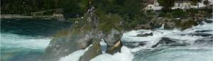 The Rhine Falls, Schaffhausen.