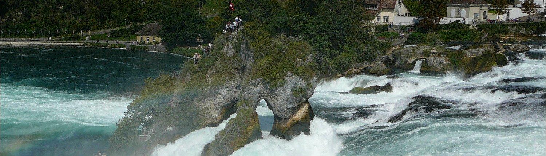 Wodospad Rheinfall, Szafuza.