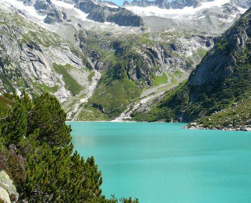 Lake Gelmer, Bernese Oberland.