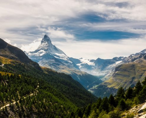 Matterhorn, around Zermatt.